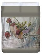 Cottage Flowers Duvet Cover