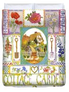 Cottage Garden Duvet Cover