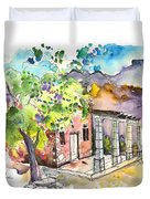 Cottage In Barca De Alva Duvet Cover