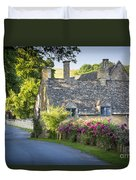 Cottage In The Cotswolds Duvet Cover