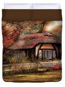 Cottage - Nana's House Duvet Cover