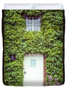 Cottage With Ivy Duvet Cover