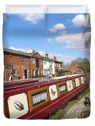 Cottages At Fradley Junction Duvet Cover