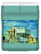 Cotten Gin Digital Paint Duvet Cover
