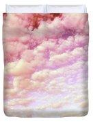 Cotton Candy Sky Duvet Cover