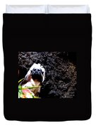 Cotton Top Tamarin Duvet Cover