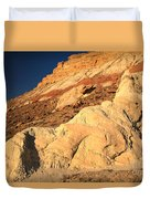 Cottonwood Colored Badlands Duvet Cover