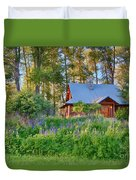 Cottonwood Cottage Spring 2014 Photographs Taken By Omaste Witko Duvet Cover
