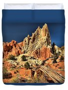 Cottonwood Narrows Side Show Duvet Cover