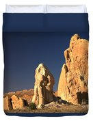 Cottonwood Towers Duvet Cover