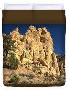 Cottonwood Yellow Towers Duvet Cover