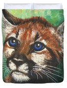 Cougar Prince Duvet Cover
