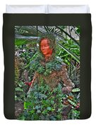 Could Her Name Be Ivy... Buffalo Botanical Gardens Series Duvet Cover