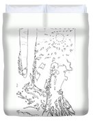 Counting On Forever Iced Edtion Duvet Cover