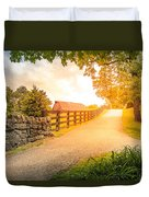 Country Alley Duvet Cover