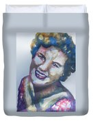 Country Artist Patsy Cline Duvet Cover