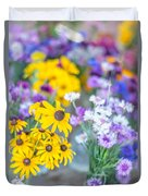 Country Blooms Duvet Cover