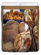 Country Bread And Muffins Duvet Cover
