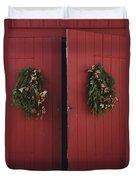 Country Christmas Duvet Cover
