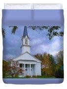 Country Church Duvet Cover