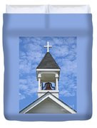 Country Church Bell Duvet Cover