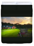 Country Estate Sunset Duvet Cover