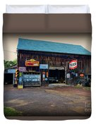 Country Garage Duvet Cover