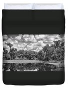 Country Lake 2 Duvet Cover