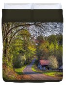 Country Lanes Duvet Cover