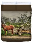 Country Life Duvet Cover by Evelina Kremsdorf