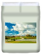 Country Living Painted Duvet Cover