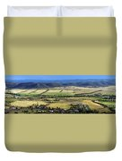Country Panorama Duvet Cover
