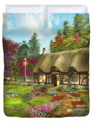 Country Path Duvet Cover