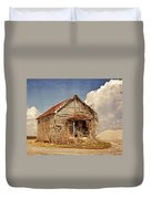 Country Schoolhouse  Duvet Cover