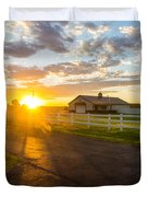 Country Skies Duvet Cover