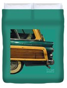 Country Squire Wagon Duvet Cover
