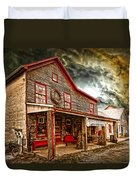 Country Store Washington Town Ky Duvet Cover