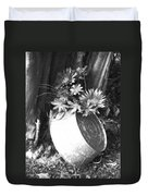 Country Summer - Bw 02 Duvet Cover