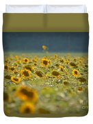 Country Sunflowers Duvet Cover