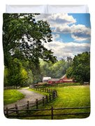 Country - The Pasture  Duvet Cover