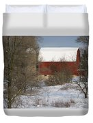 Country Winter Duvet Cover