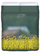 Country Yellow Duvet Cover