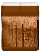 Countryside Fence Duvet Cover