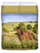 Countryside Horse Duvet Cover