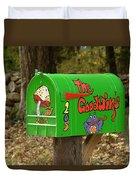 Countryside Mailbox #15 Duvet Cover