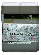 Countryside Mailbox #22 Duvet Cover