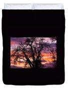 County Sunset Duvet Cover