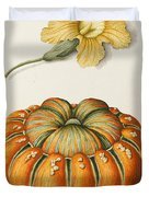 Courgette And A Pumpkin Duvet Cover