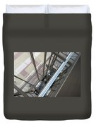 Courthouse Arcitecture Duvet Cover