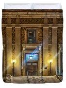 Courthouse Steps Duvet Cover